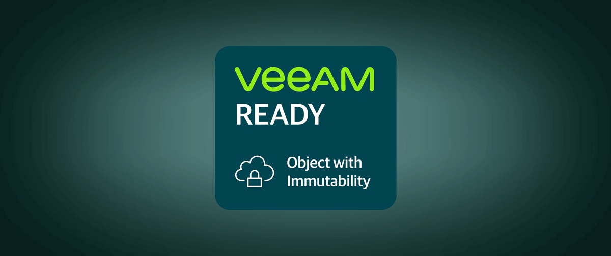 MinIO earns Immutability badge from the Veeam Ready Program
